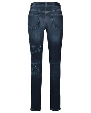 Parla slim fit jeans with cherry blossoms CAMBIO