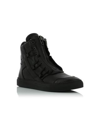 High-top leather sneakers HELMUT LANG