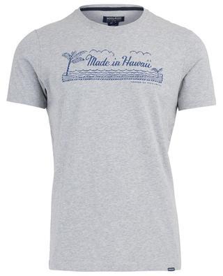 Bedrucktes T-Shirt aus Baumwolle WOOLRICH