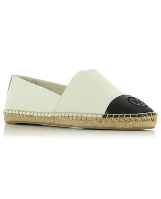 Espadrilles en cuir Color-Block TORY BURCH