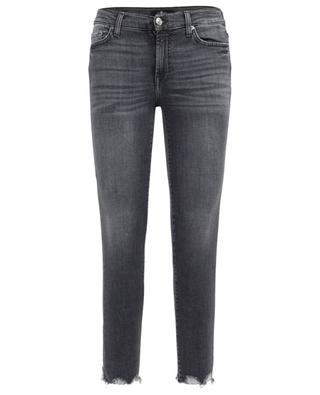 Illusion Nightshadow skinny fit cropped jeans 7 FOR ALL MANKIND