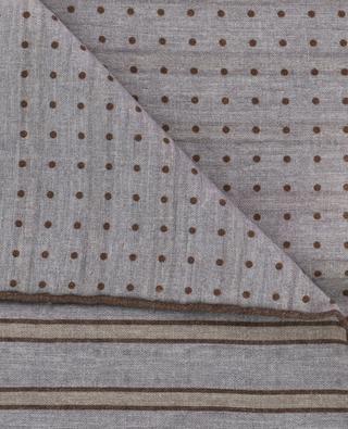 Pochette en laine et coton ELEVENTY