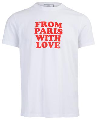 T-shirt From Paris With Love AMI