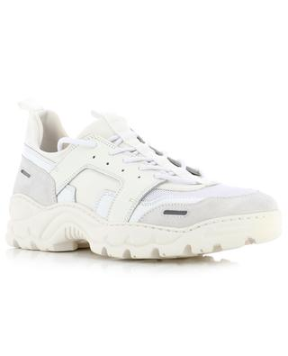 Lucky 9 leather and neoprene sneakers AMI