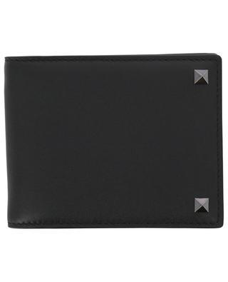 Rockstud card holder with money clip VALENTINO
