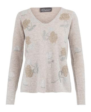 Wool and cashmere jumper PRINCESS