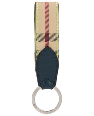 Haymarket Check key ring BURBERRY