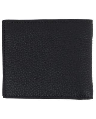 Grained leather wallet BURBERRY