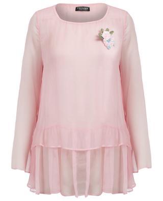 Silk crepe blouse TWINSET
