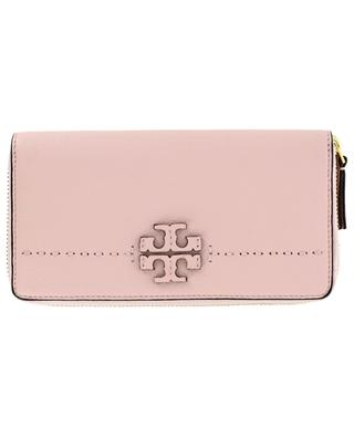 McGraw leather wallet TORY BURCH