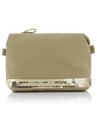 Canvas and sequins cosmetic bag VANESSA BRUNO