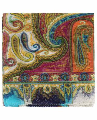 Delhy lightweight linen and silk scarf ETRO