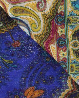 Delhy lightweight linen and silk scarf ETRO