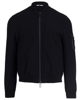 Cotton blend bomber jacket PAOLO PECORA