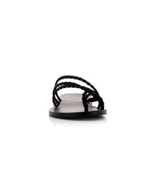 Amalia satin sandals ANCIENT GREEK SANDALS