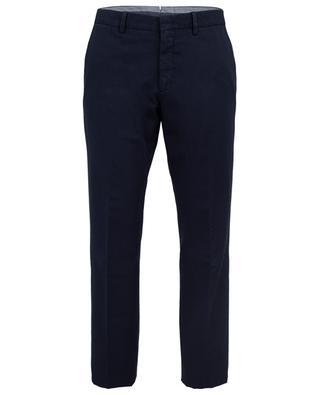 Pantalon en coton et lin ERMENEGILDO ZEGNA