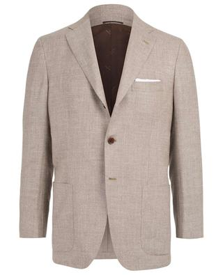 Cashmere, linen and silk blazer KITON