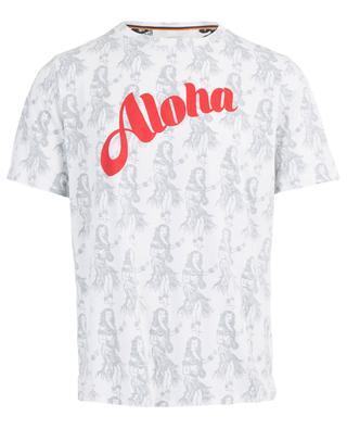 T-Shirt aus Baumwolle mit Print PAUL SMITH
