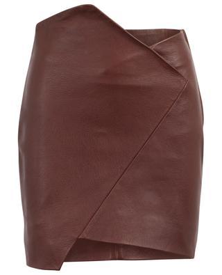 Enamah leather mini skirt IRO
