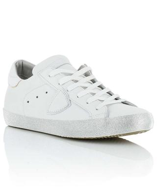 Paris Glitter leather sneakers PHILIPPE MODEL