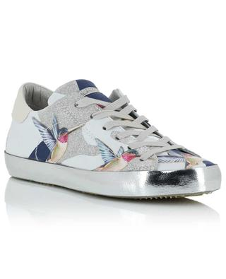Sneakers aus Leder Paris Laminé Tropical PHILIPPE MODEL