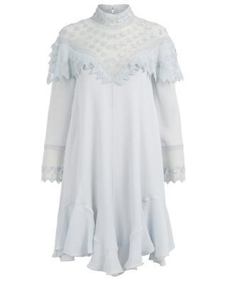 Robe courte en soie CHLOE
