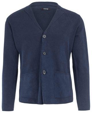 Linen and cotton cardigan ALTEA