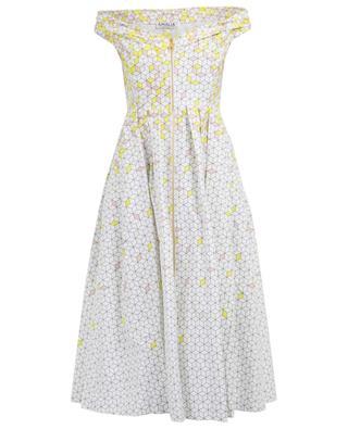 Mittellanges Kleid aus Baumwolle Grace AMALIA