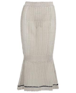 Jupe tricot en lin mélangée VICTORIA BECKHAM