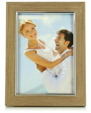 Kate wood and silver photo frame NORDISK
