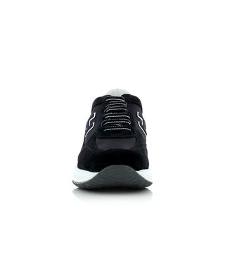 Interactive leather and fabric sneakers HOGAN