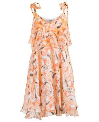 Kurzes Kleid aus Seide DONDUP