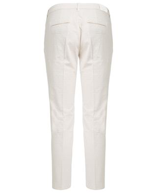 Alice textured chino trousers JACOB COHEN