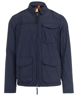 Blue light-weight parka PARAJUMPERS