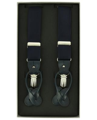 Fabric and leather braces ROSI COLLECTION