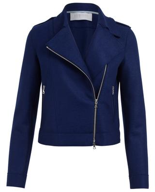 Perfecto-Jacke aus Schurwolle HARRIS WHARF