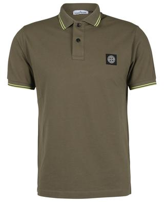 22S18 cotton blend slim fit polo shirt STONE ISLAND