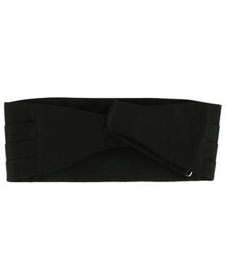 Silk tuxedo belt ROSI COLLECTION