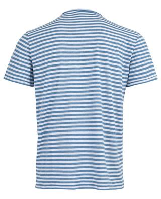 Cotton and linen striped T-shirt MAJESTIC FILATURES