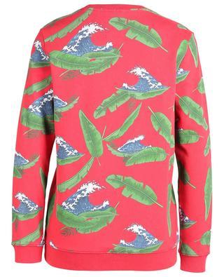 Sweat-shirt en coton imprimé vagues Island Fever ZOE KARSSEN