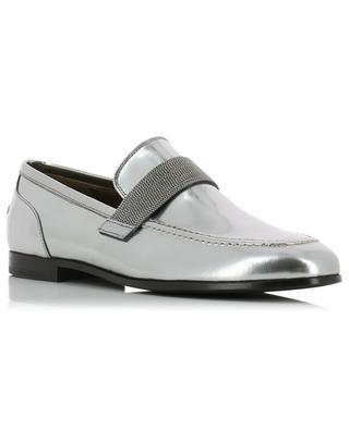 Precious Band silver loafers BRUNELLO CUCINELLI