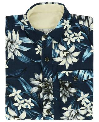 Bob floral print cotton and linen shirt NINE IN THE MORNING