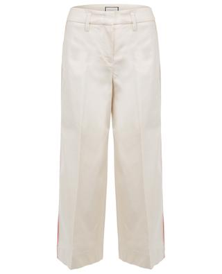 Pantalon large en lin mélangé Carina SEDUCTIVE