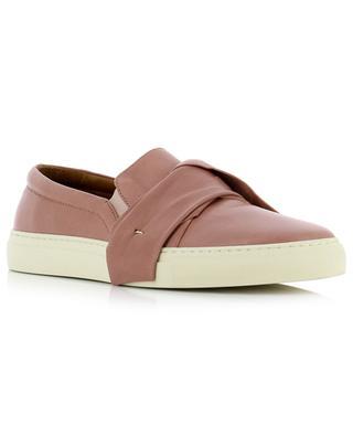 Leather slip on sneakers TRIVER FLIGHT