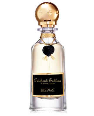 Patchouli Sublime élixir de parfum PARFUMS DE NICOLAI