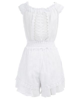 Yaiza cotton blend playsuit CHARO RUIZ IBIZA