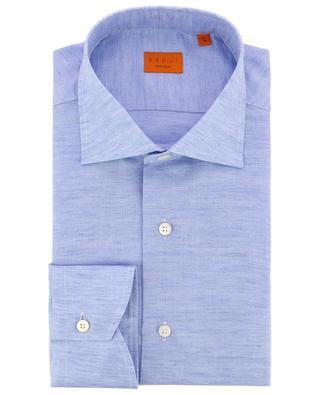 Hemd aus Baumwolle und Leinen BRULI