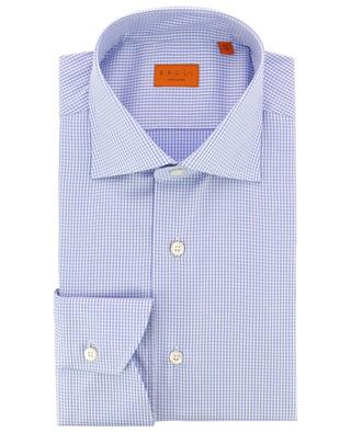 Chequered cotton shirt BRULI