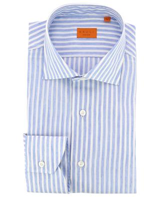 Striped linen and cotton shirt BRULI