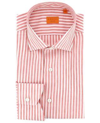 Striped linen and cotton shirt BRULI
